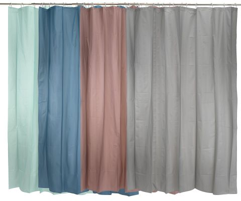 Shower curtain SOLVARBO 150x200 assorted