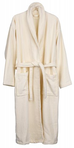 Bathrobe TIBRO S/M natural KRONBORG