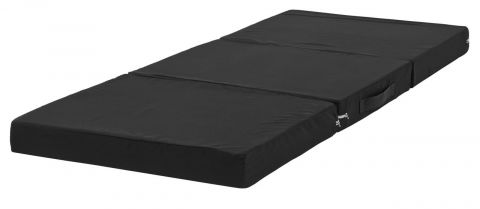 Folding mattress 70x190 black PLUS F10