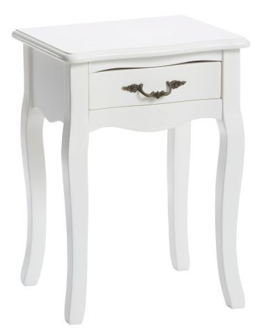 Bedside table STENLILLE 1 dra off- white