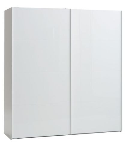 Wardrobe ONSTED 202x221 white highgloss