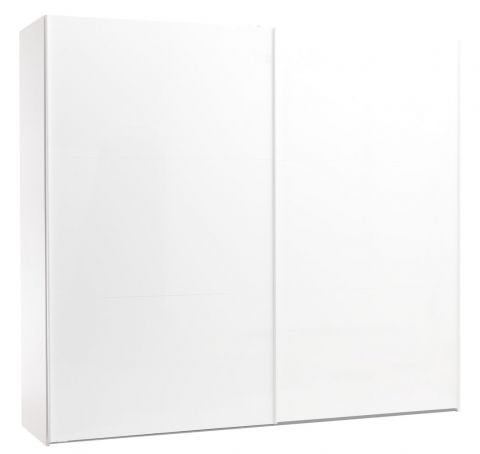 Wardrobe ONSTED 250x221 white highgloss
