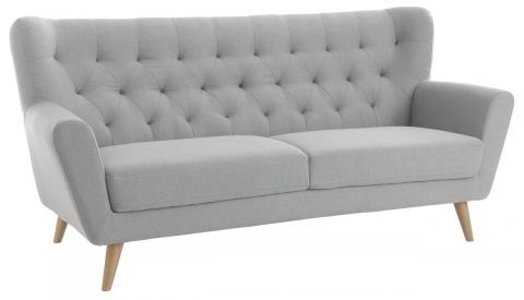 Sofa JUNGET 3 seater light grey