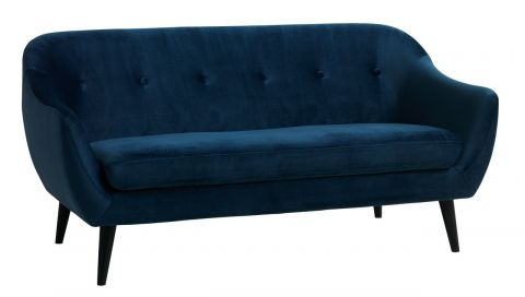 Sofa EGEDAL 2,5 seater velour dark blue