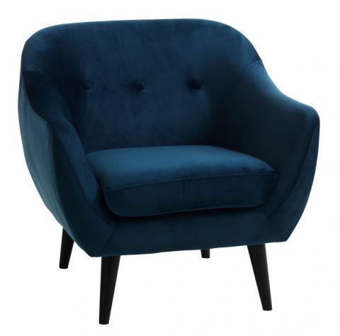 Armchair Egedal Navy Blue