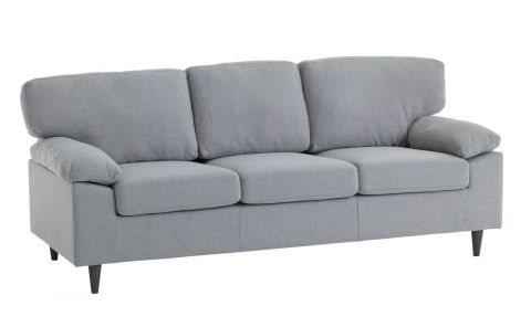 JYSK Stylish Affordable Scandanavian Furniture Grey Gedved 2 Seater Sofa Couch