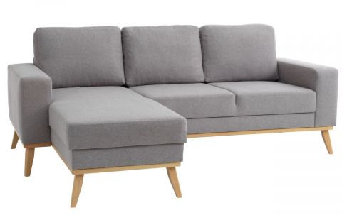 Sofa ARENDAL chaise longue light grey