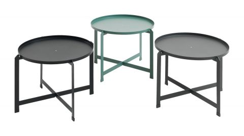 Side table BORRE D:50xH40 assorted