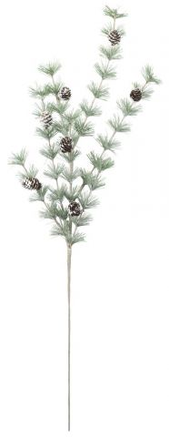 Twigs BURR H80cm w/pinecones