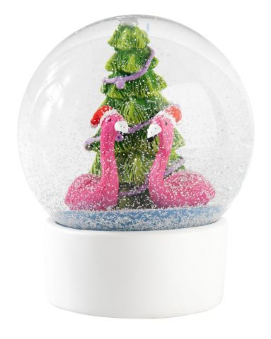 Snow globe DURIN glass D:10xH12cm