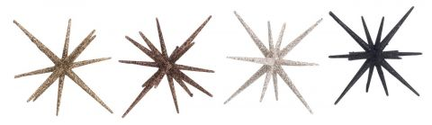 Star ASLAUG D:12xH8cm assorted