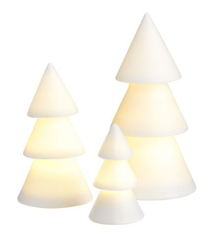 Christmas tree AMFIBOL w/LED 3pcs/pk