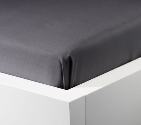 Sheet Percale SGL grey KRONBORG