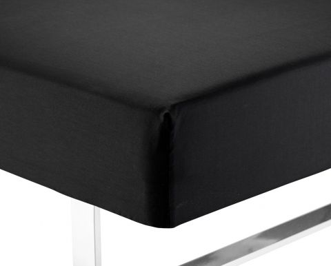 Fitted S KING 160x200x35cm Kr. black
