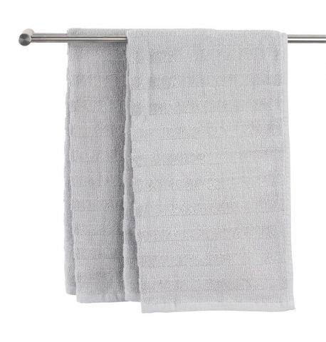 Bath sheet TORSBY light grey