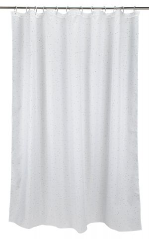 Shower curtain HAGBY 150x200 white
