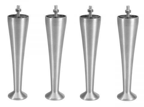Legs for box 23cm champagne set of 4