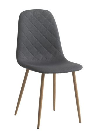 Dining chair JONSTRUP asphalt/oak
