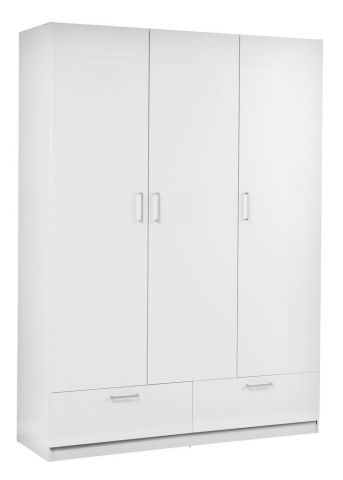 Wardrobe EJERSTED 144x200 white