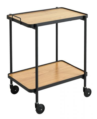 Trolley GANGSTED oak/black