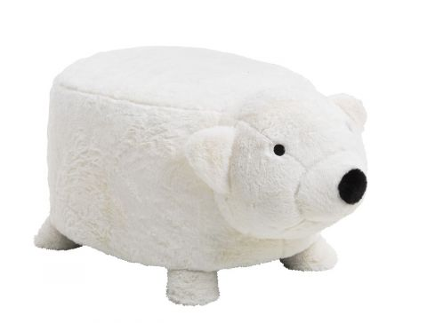 Children's stool ULBJERG polar bear