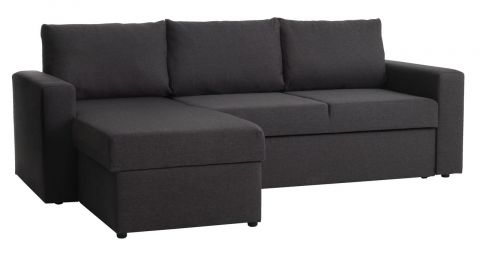 Sofa bed chaiselongue MARIAGER dark grey