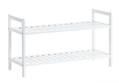 Shoe rack UGGERBY 2 shelves white