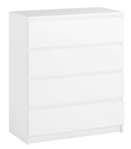 TRANBJERG 4 drawer chest white
