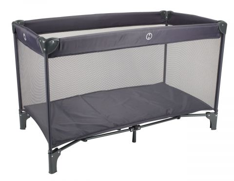 Travel cot VODSKOV 65x125 dark grey