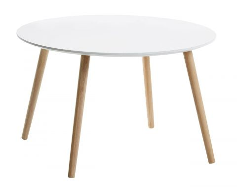 Coffee table GALTEN 75cm white