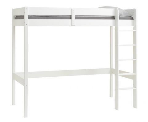 Loft bed VESTERVIG 90x200 white