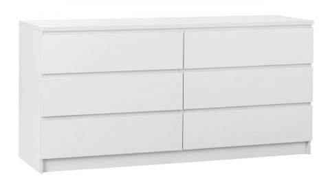 LIMFJORDEN 3+3 drawer chest white