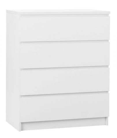 LIMFJORDEN 4 drawer chest white