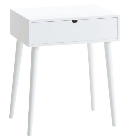 Bedside table ILBRO 1 drawer white