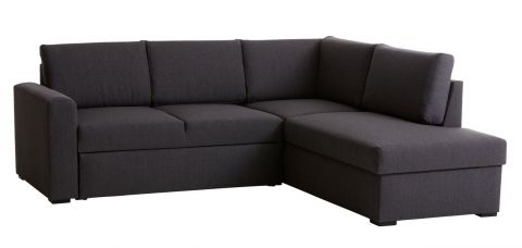 Sofa bed chaiseongue BEDSTED grey