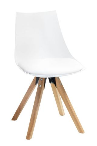 Dining chair ORE white/oak