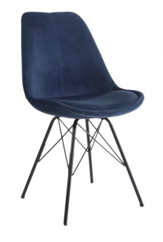 Dining chair KLARUP Navy Blue
