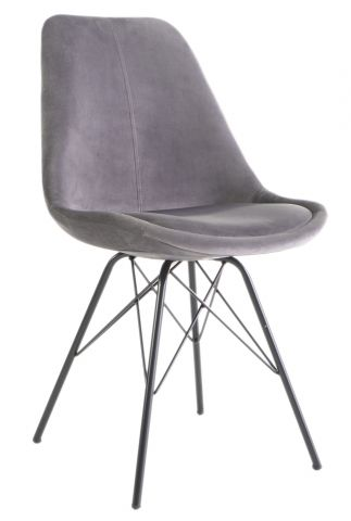 Dining chair KLARUP Dark grey