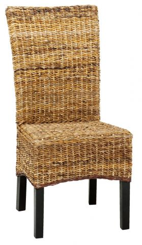 Dining chair TORRIG natural/brown