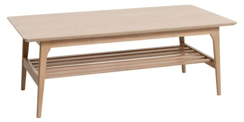 Coffee table KALBY 60x120 light oak