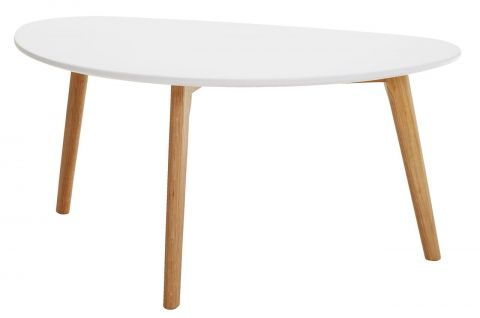 Coffee table LEJRE 48x85 white/oak