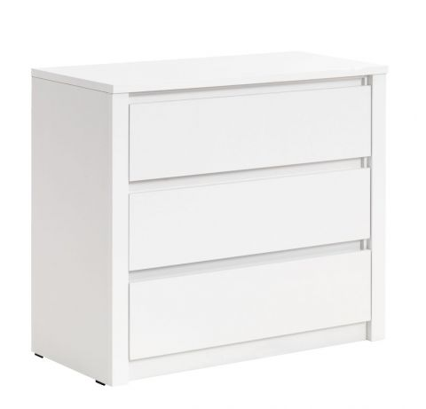 VEDDE 3 drawer chest white