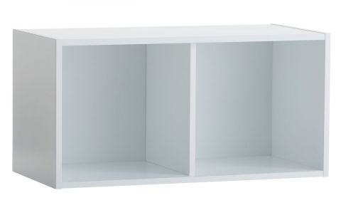 Shelving unit SKALS 2 comp. white