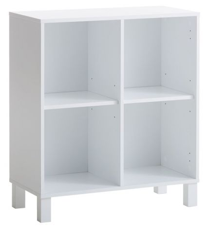 Shelving unit SKALS 4 comp. white