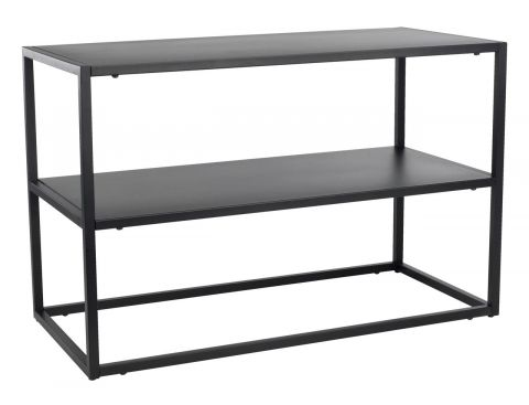 ..Shoe rack VIRUM 2 shelves black