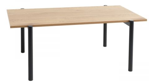 ..Coffee table TEGLUM 64x112 oak/black