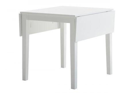 Dining table NORDBY 80x70120 white