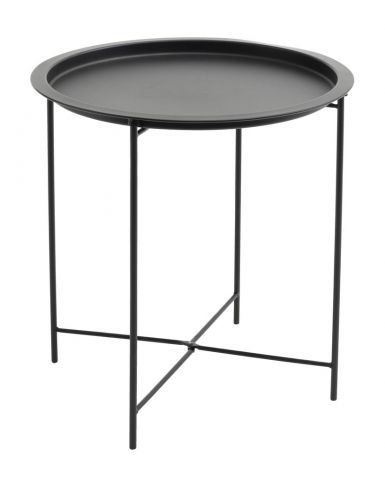End table RANDERUP �47 black