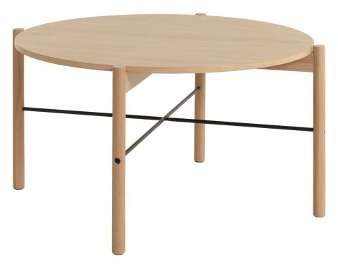 ..Coffee table DALBY 80cm oak/black