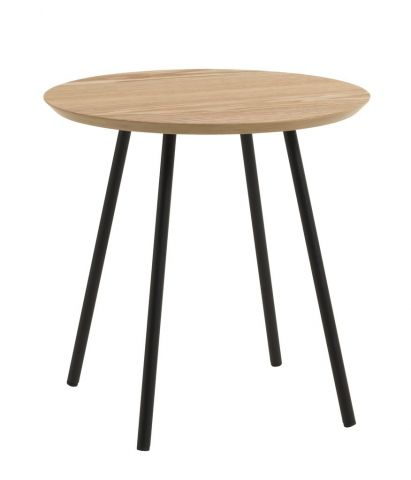 End table TERP �40 oak/black